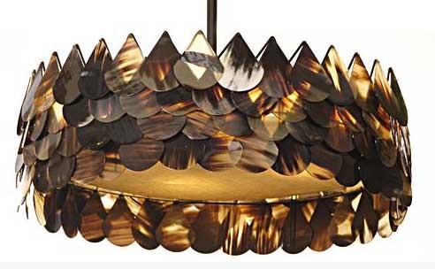 291832 luminária pétalas Aprenda a usar lustres pendentes na decoração