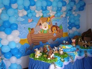 292208 arca de noé Temas de decoração para festa de aniversário de 1 ano