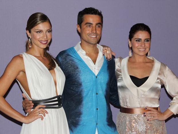 292255 ricardo grazi giovanna Foto Divulga%C3%A7%C3%A3o TV Globo Atores falam sobre seus personagens da festa de lançamento de Aquele Beijo