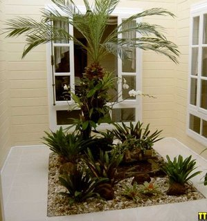 para jardim simples 1 Ideias para decoração de jardim simples