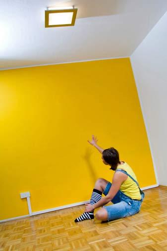 293916 paredes coloridas Decoração com paredes coloridas: idéias, fotos