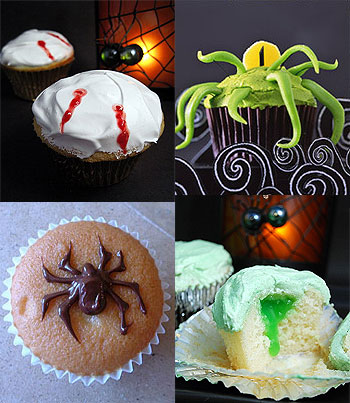 294367 aprenda a fazer decoracao de cupcakes para halloween5 Decoração de cupcakes para Halloween, dicas, fotos