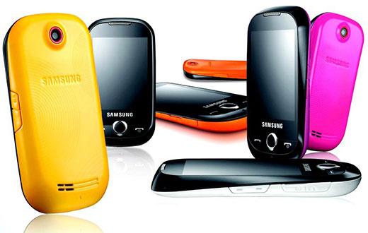 294384 samsung corby s3650 6  95658 zoom Celulares femininos da Samsung: modelos, preços
