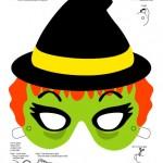 294799 mascara13 150x150 Máscaras de Halloween para colorir