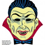 294799 mascara14 150x150 Máscaras de Halloween para colorir