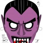 294799 mascara15 150x150 Máscaras de Halloween para colorir