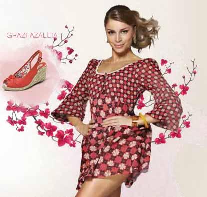 295862 grazi azaleia Calçados femininos Azaleia Primavera Verão 2012