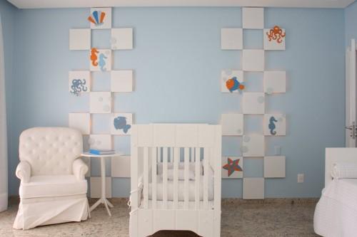 296204 quarto de bebe tema fundo do mar1 500x333 Tema fundo do mar para decorar quarto de bebê