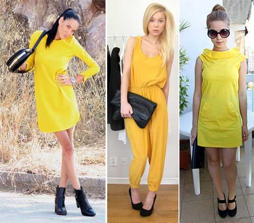 296578 amarelo acessorios preto Como usar Amarelo – Tendência para o verão