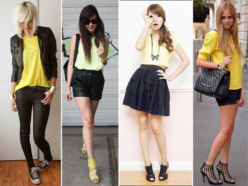 296578 amarelo preto Como usar Amarelo – Tendência para o verão