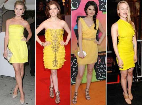 296578 famosas1 Como usar Amarelo – Tendência para o verão