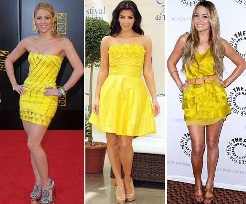 296578 famosas2 Como usar Amarelo – Tendência para o verão