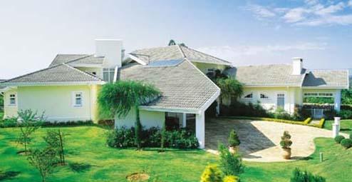 297016 casa moderna com telha de concreto lisa Conheça modelos de telhados para casas modernas