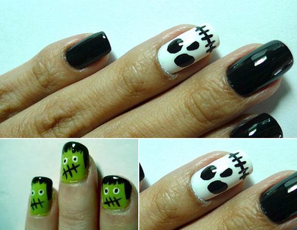 297130 ideias de unhas decoradas para o halloween Unhas decoradas para o Halloween 2012, dicas, ideias