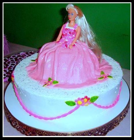 297766 bolo da barbie Decoração de aniversário de meninas com temas da Barbie