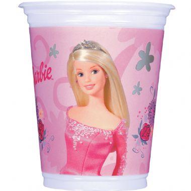 297766 copo da barbie Decoração de aniversário de meninas com temas da Barbie