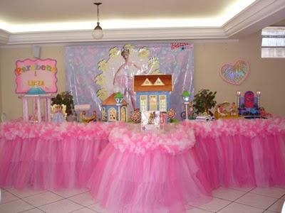 297766 festa de aniversario da barbie Decoração de aniversário de meninas com temas da Barbie