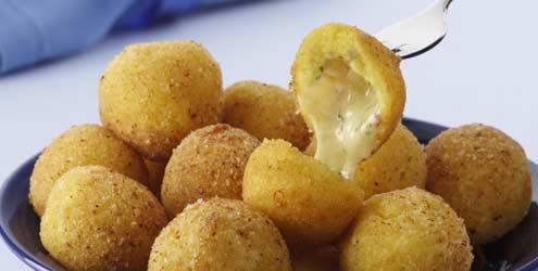 298515 croquete de quijo 1 Receita de croquete de queijo
