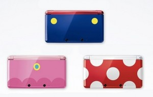 Nintendo distribuirá 3DS com personagens Toad, Peach e Mario no Japão
