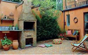 Sugestões para decorar o quintal com churrasqueira