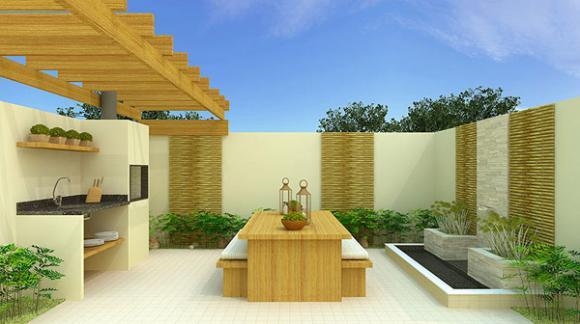 299229 Sugestões para decorar o quintal com churrasqueira 4 Sugestões para decorar o quintal com churrasqueira