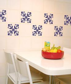 299713 Adesivos para Azulejos 1 Adesivos de azulejo para decorar paredes