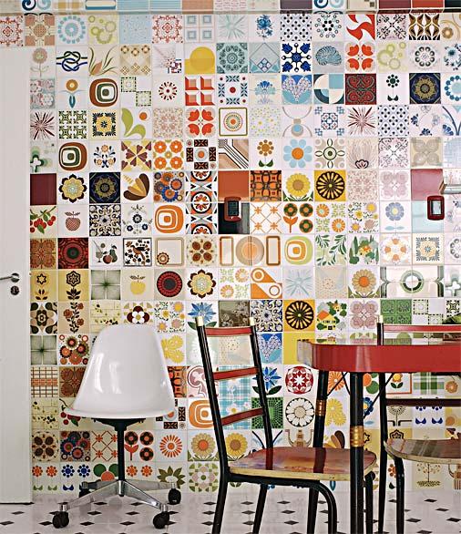 299713 Adesivos para Azulejos 3 Adesivos de azulejo para decorar paredes