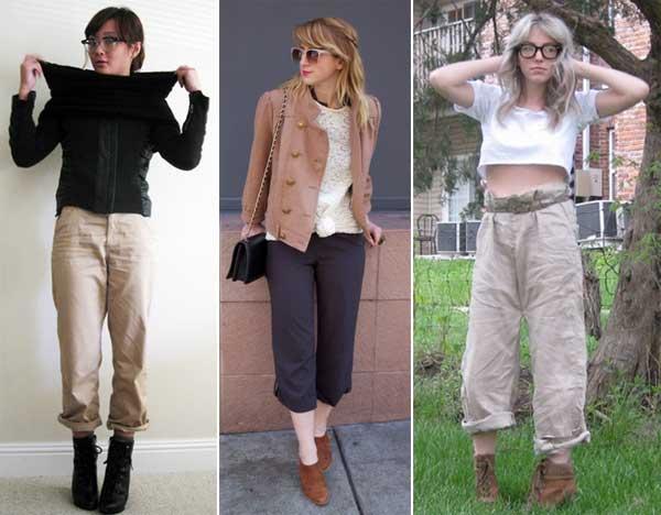 300853 pantalona Calça Cropped – Tendência para o verão 2012