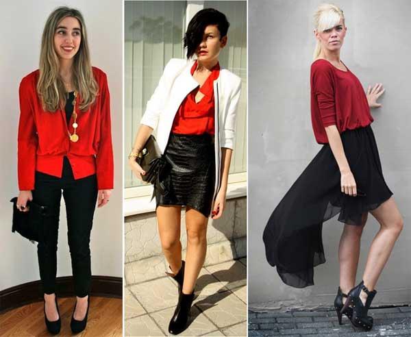 300894 blusa Como usar Vermelho   Dicas e Looks