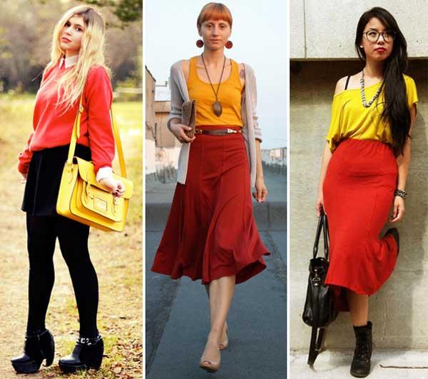 300894 red amarelo Como usar Vermelho   Dicas e Looks
