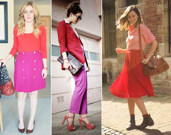 300894 red rosa Como usar Vermelho   Dicas e Looks