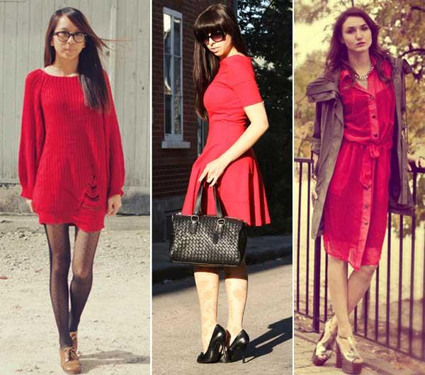 300894 vestido Como usar Vermelho   Dicas e Looks
