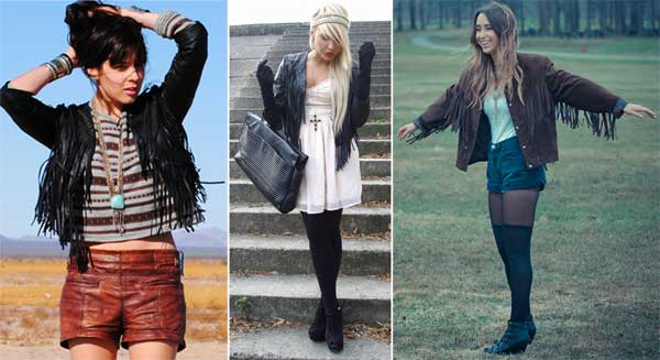 300928 jaqueta Franjas – Tendência para o verão 2012