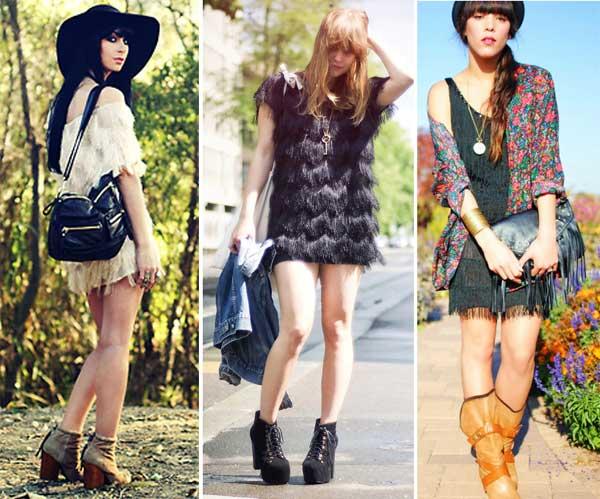 300928 vestido Franjas – Tendência para o verão 2012