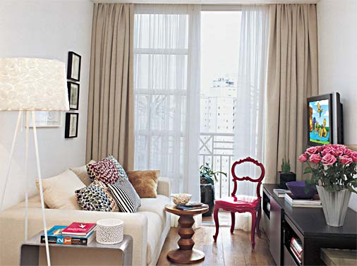 301117 Decoração de Sala Pequena e Simples 1 Aprenda a decorar sua sala de uma forma simples