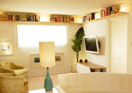 301117 Decoração de Sala Pequena e Simples 3 Aprenda a decorar sua sala de uma forma simples