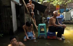 Enchentes na Tailândia já deixaram 366 mortos