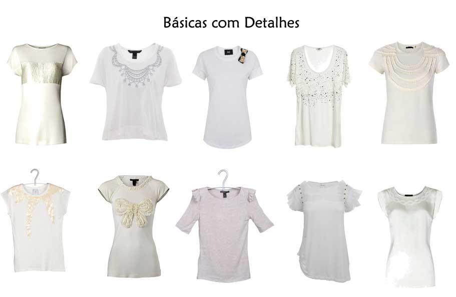 302356 basicas com detalhes Camisetas Brancas e Sofisticadas – Dicas e Looks