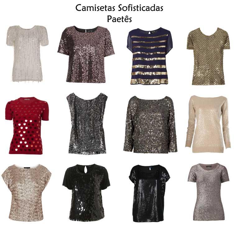 302356 camisetas sofisticadas paetes Camisetas Brancas e Sofisticadas – Dicas e Looks