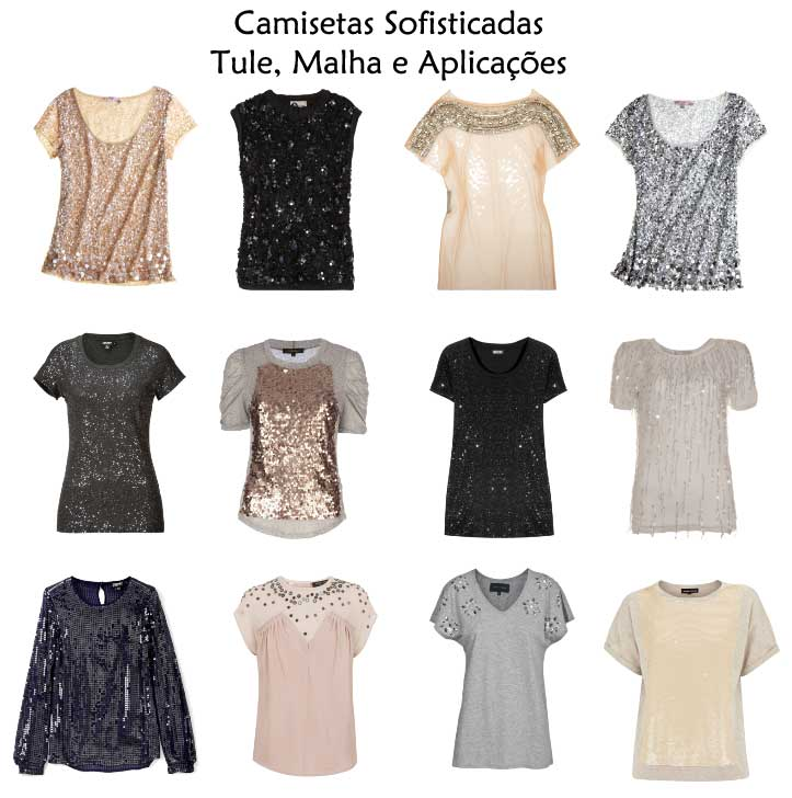 302356 camisetas sofisticadas tulemalhaaplicacoes Camisetas Brancas e Sofisticadas – Dicas e Looks