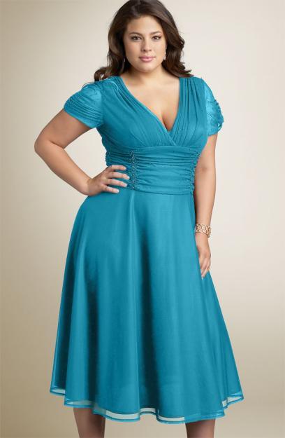 303923 vestido gordinhas O vestido certo para cada tipo de corpo