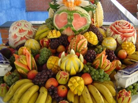 304331 Decoração de Casamento com Frutas 1 Decoração com frutas para casamento