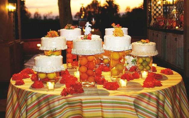 304331 Decoração de Casamento com Frutas 4 Decoração com frutas para casamento