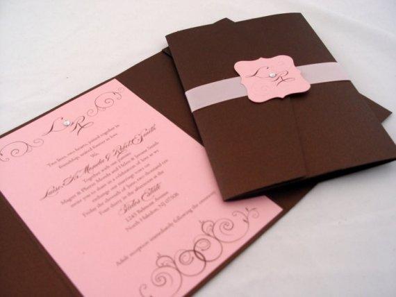 305716 Decoração de casamento rosa e marrom 01 Decoração de casamento rosa e marrom