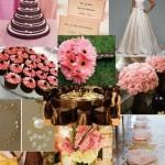 305716 delicado e romantico como deve ser um casamento 150x150 Decoração de casamento rosa e marrom