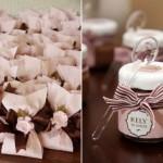 305716 lembrancinhas personalizadas 150x150 Decoração de casamento rosa e marrom
