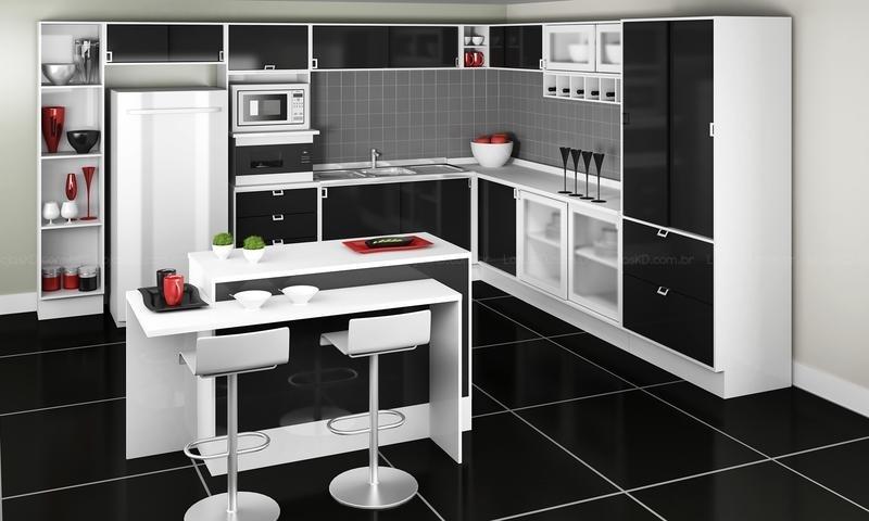 306032 Preto e branco na decora%C3%A7%C3%A3o da casa 4 Preto e branco na decoração da casa
