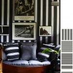 306032 listras na decoração 150x150 Preto e branco na decoração da casa
