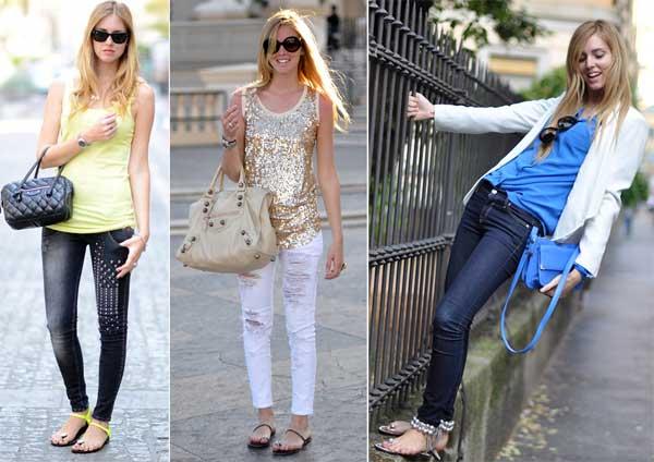 306723 calça jeans Rasteirinhas   Dicas para o Verão 2012