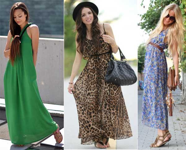 306723 vestido longo Rasteirinhas   Dicas para o Verão 2012